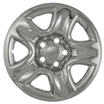 Toyota Highlander Chrome Wheel Covers, 2001, 2002, 2003, 2004, 2005, 2006, 2007