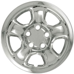 Dodge Ram 1500 Chrome Wheel Covers, 2002, 2003, 2004, 2005, 2006, 2007, 2008, 2009, 2010, 2011, 2012