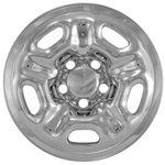 Toyota Tacoma Chrome Wheel Covers, Regular Cab,  2005, 2006, 2007, 2008, 2009, 2010, 2011, 2012, 2013, 2014, 2015
