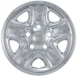 Toyota Tundra Snap-In Chrome Wheel Covers, IMP-77X, 2007, 2008, 2009, 2010, 2011, 2012, 2013, 2014, 2015, 2016, 2017