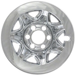 Chevrolet Silverado 1500 Chrome Wheel Covers, 2014, 2015, 2016, 2017, 2018