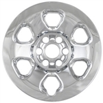 Nissan Titan Chrome Wheel Covers, 2013, 2014, 2015, 2016, 2017, 2018