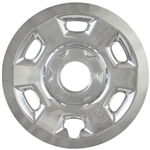 Chevrolet Colorado Chrome Wheel Covers, 2015, 2016, 2017, 2018, 2019