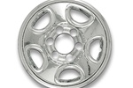 2003 - 2005 Chevrolet Astro Chrome Wheel Skins Set