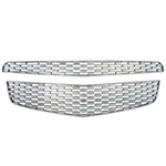 Chevrolet Equinox Chrome Grille Overlay, 2010, 2011, 2012, 2013, 2014, 2015
