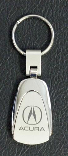 Acura Key Chain Stainless Steel Teardrop Style ShopSARcom - Acura keychain