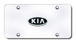 Kia Chrome License Plate