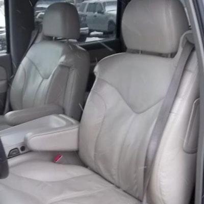 Gmc Yukon Katzkin Leather Seat Upholstery 2 Passenger Front Seat