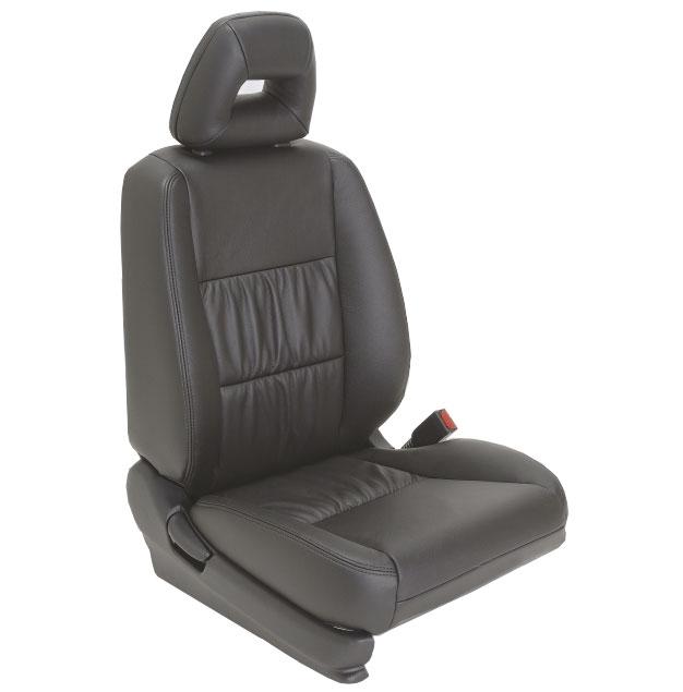 2003 Honda Civic Sedan Hybrid Katzkin Leather Upholstery Larger Photo