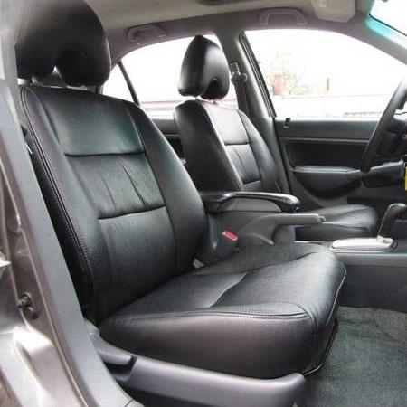 Elegant Katzkin Leather. Interior #AHO43