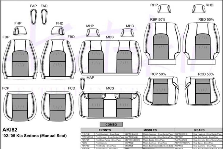 kia sedona katzkin leather seat upholstery, 2002, 2003, 2004, 2005 kia sedona manual 2016 kia sedona schematic #34