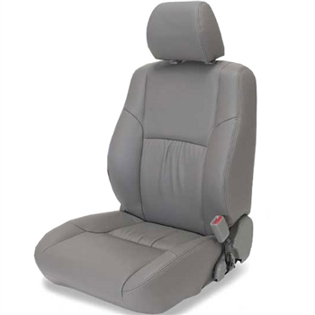 Toyota 4Runner Katzkin Leather Seat Upholstery, 2004, 2005, 2006, 2007, 2008, 2009 (with front seat SRS airbags, with third row seat)