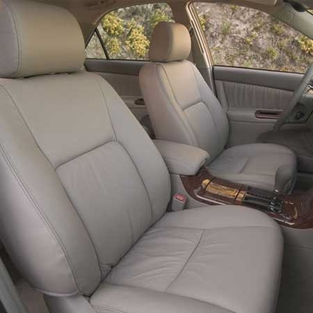 toyota camry katzkin leather seat upholstery covers 2004 2005 2006 electric driver and passenger with srs airbag front seats shopsar com toyota camry katzkin leather seat upholstery covers 2004 2005 2006 electric driver and passenger with srs airbag front seats shopsar com