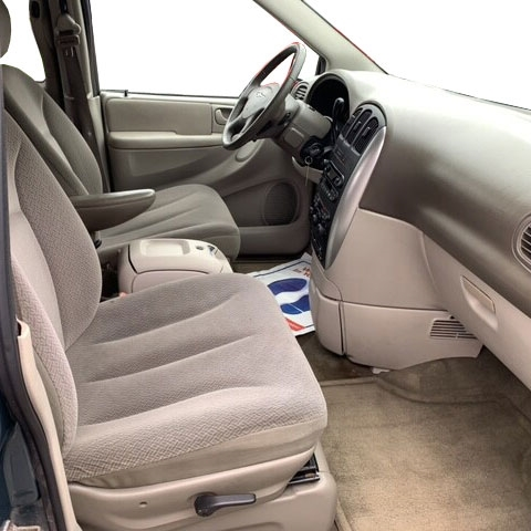 2006 Passenger /& Rear Floor GGBAILEY D4559A-S2B-BK-LP Custom Fit Car Mats for 2005 2007 Chrysler Town and Country Black Loop Driver