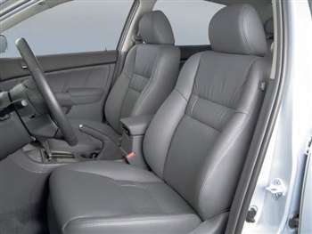 Honda Accord Sedan DX / VP Katzkin Leather Seat Upholstery (Manual driver seat, with front seat SRS airbags), 2005, 2006, 2007