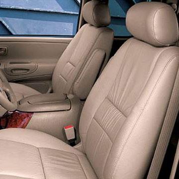 Toyota Tundra Double Cab Katzkin Leather Seat Upholstery (2 passenger front  seats), 2005, 2006   ShopSAR com