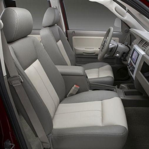 Excellent Dodge Dakota Quad Cab Katzkin Leather Seat Upholstery 2005 2006 2007 2008 2009 2010 2011 Shopsar Com Machost Co Dining Chair Design Ideas Machostcouk
