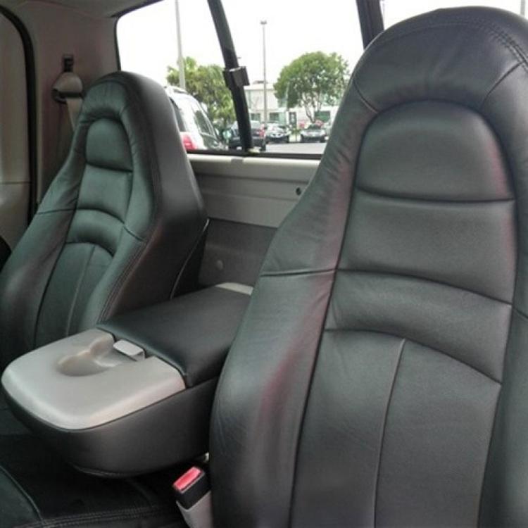 Ford F150 Regular Cab Lightning Katzkin Leather Seat Upholstery 1999 Shopsar Com