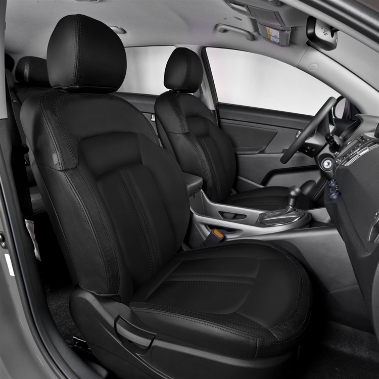 2008 Kia Sportage Interior: KIA SPORTAGE LX / EX Katzkin Leather Seat Upholstery, 2005