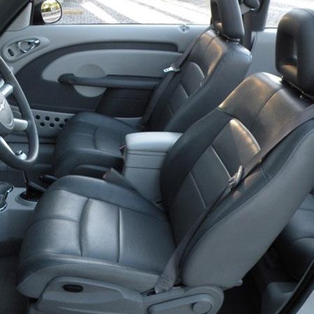 2006-2010 CHRYSLER PT CRUISER DRIVER AIR BAG GRAY USED OEM!