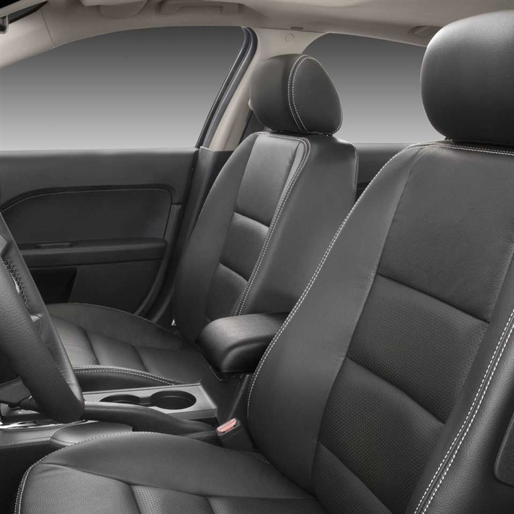 2008 Ford Fusion S Se Sel Sedan Katzkin Leather Upholstery Larger Photo