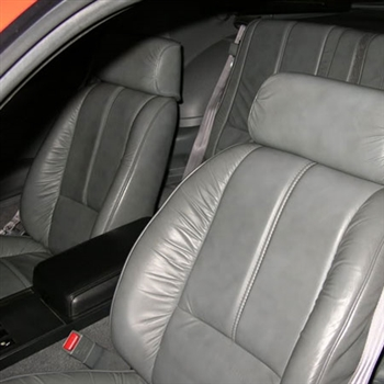 Chevrolet Camaro Coupe Katzkin Leather Seat Upholstery (split rear lean back), 1988, 1989, 1990, 1991, 1992