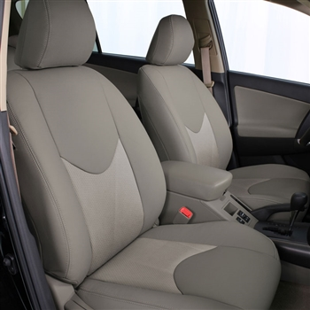 Toyota Rav4 Base Katzkin Leather Seat Upholstery,2006, 2007, 2008 (slip cover front seat lean backs, without third row seating)