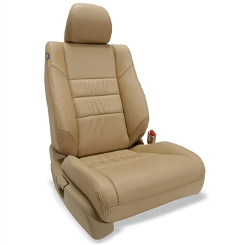 Honda Accord Sedan LX Katzkin Leather Seat Upholstery (gathered design), 2008, 2009, 2010