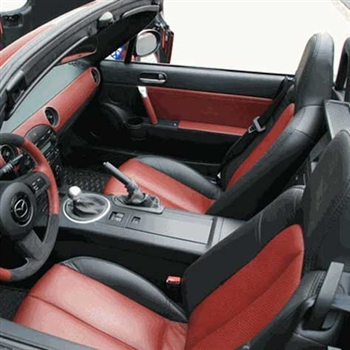 2008 MAZDA MIATA MX5 Katzkin Leather Seat Upholstery