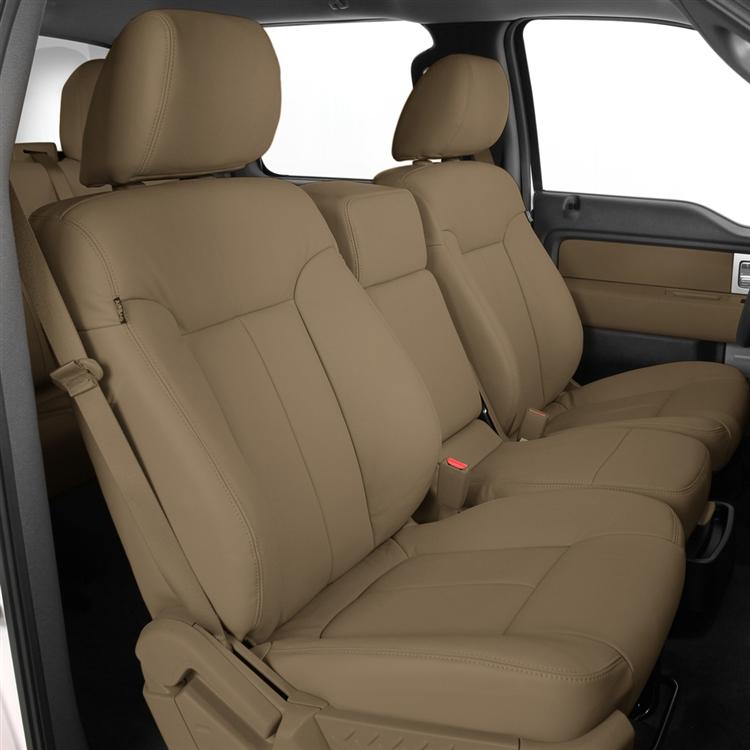 2009 Ford F150 Crew Cab Xlt Katzkin Leather Interior 2 Passenger Front Seat 2 Row