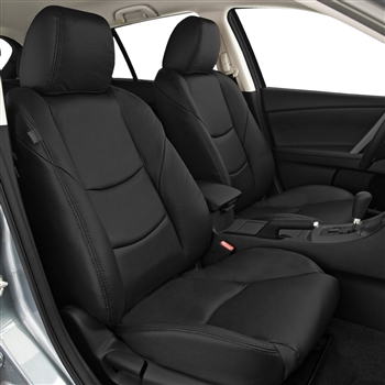 2010 MAZDA 3 HATCHBACK Katzkin Leather Upholstery