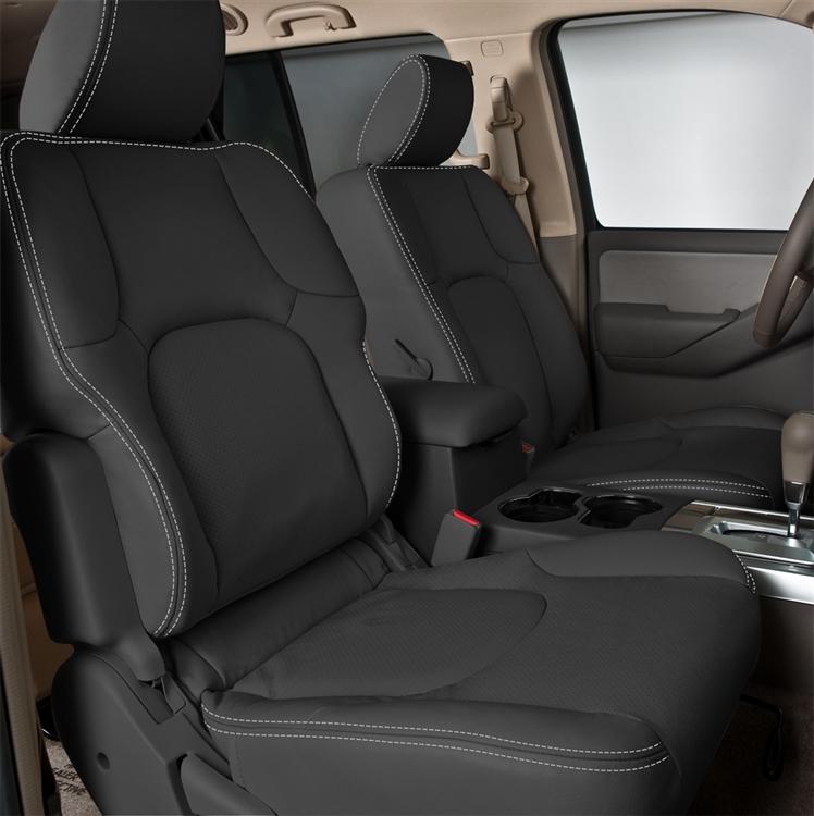 nissan pathfinder s katzkin leather seat upholstery 2010 2011 shopsar com 2010 2011 nissan pathfinder s katzkin leather interior 3 row