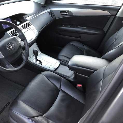 toyota avalon xl katzkin leather seat upholstery 2010 flat design shopsar com 2010 toyota avalon xl katzkin leather interior flat design 2 row