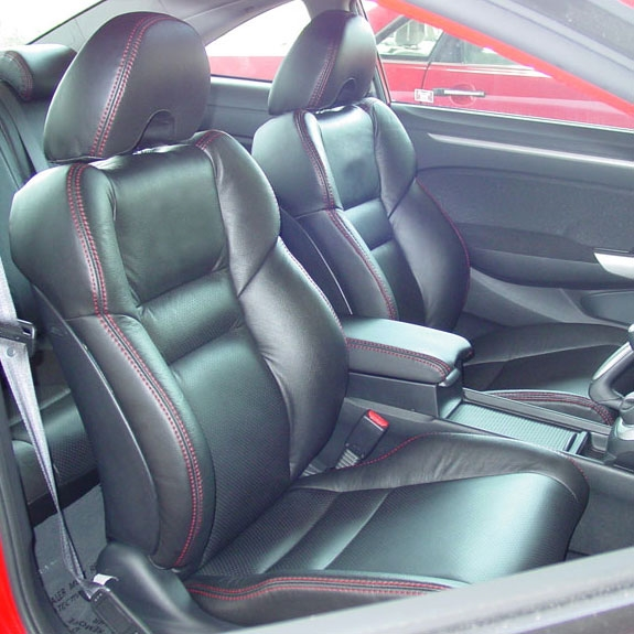 2017 Honda Civic Coupe Si Katzkin Leather Upholstery Larger Photo