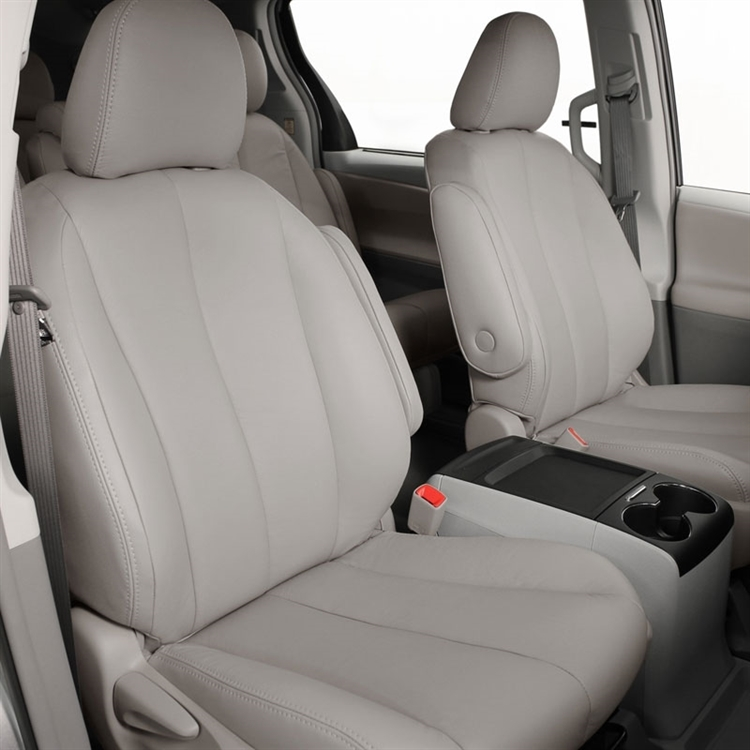 Toyota Sienna Seat Covers >> Toyota Sienna Le Katzkin Leather Seat Upholstery 7 Passenger 2011 2012 2013 Shopsar Com