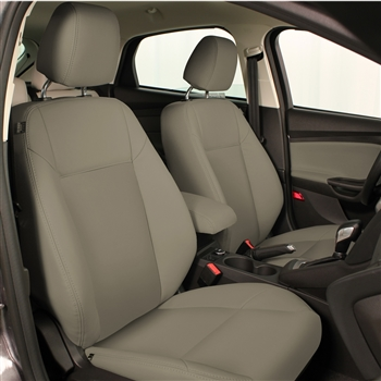 2012 Ford Focus S / SE SEDAN Katzkin Leather Upholstery