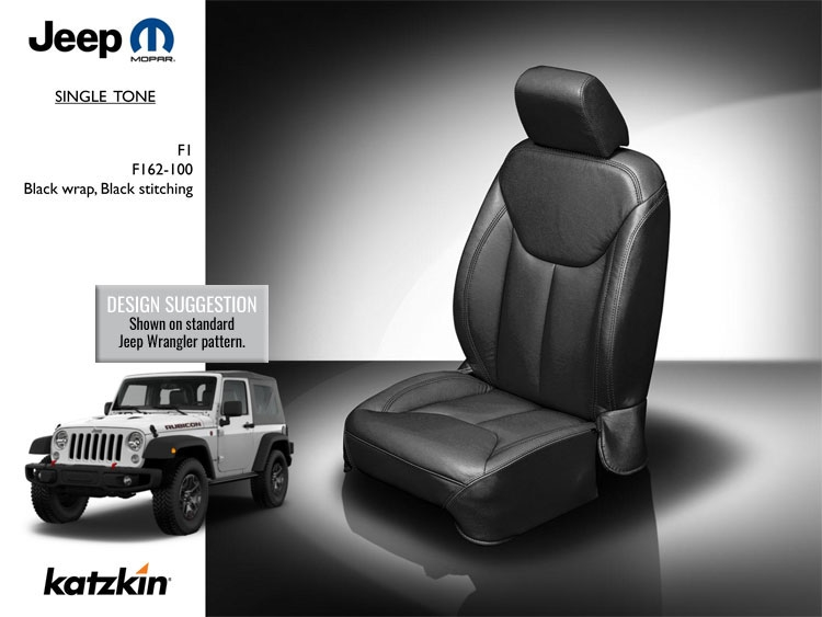 Jeep Wrangler 4 Door Katzkin Leather Seat Upholstery 2013 2014 2015 2016 2017 With Front Seat Srs Airbags Shopsar Com