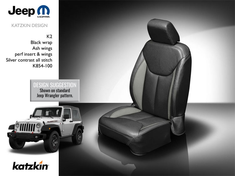 Jeep Wrangler 4 Door Katzkin Leather Seat Upholstery 2018 Jk Body