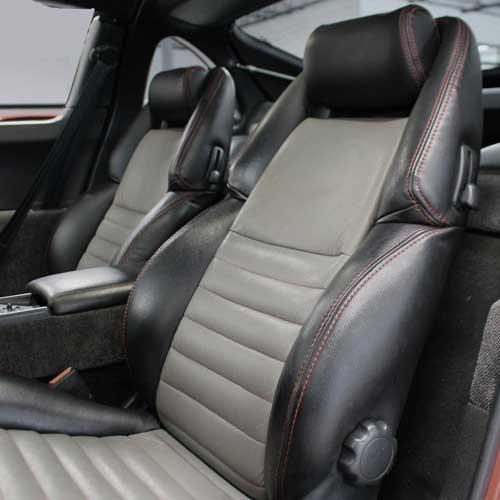 1990 - 1997 Nissan 300ZX Coupe Katzkin Leather Seat Upholstery   ShopSAR com