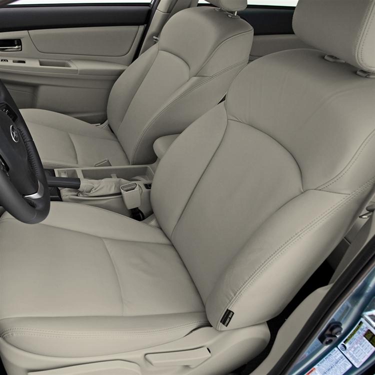 Subaru Xv Crosstrek Hybrid Katzkin Leather Seat Upholstery 2014