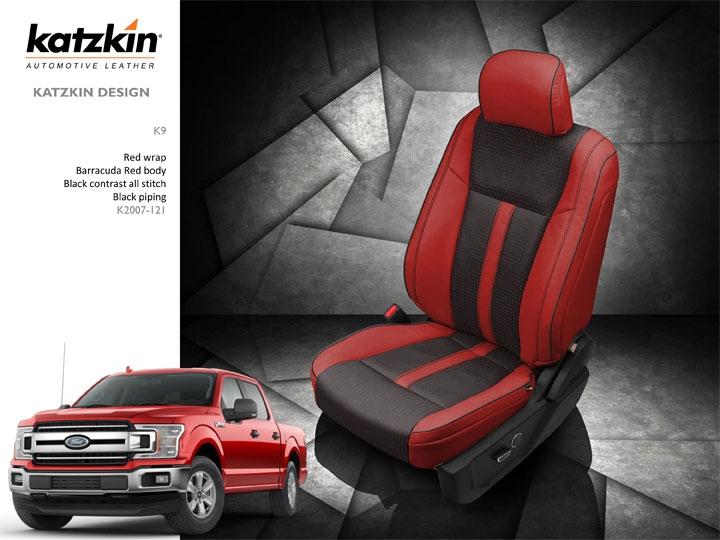 2018 Ford F150 Crew Cab Xlt Katzkin Leather Interior 2 Passenger Front Seat 2 Row