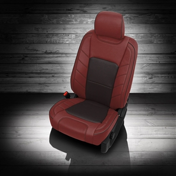 Ford F150 Crew Cab XLT 'Limited Design' Katzkin Leather Seat Upholstery, 2016