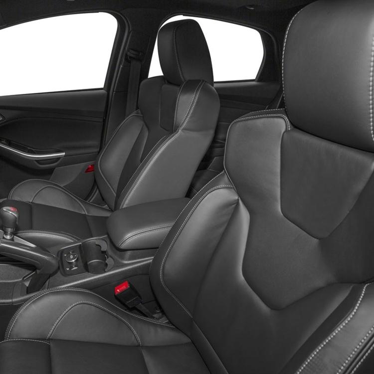 2017 Ford Focus S Se Sedan Katzkin Leather Upholstery