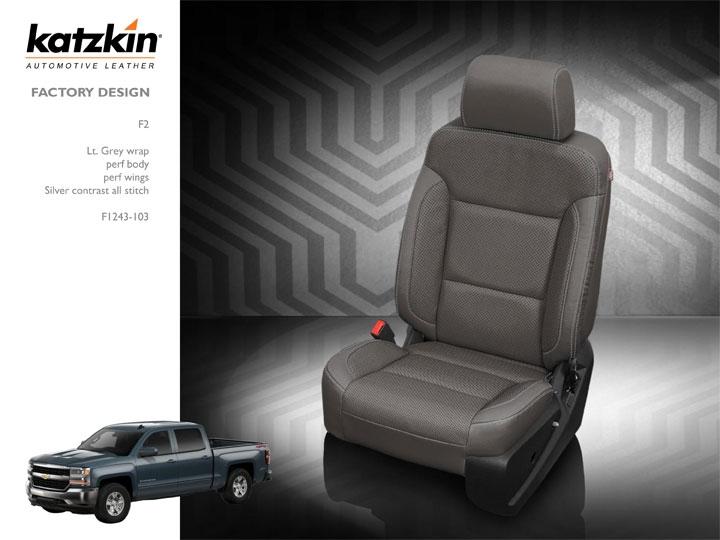 Pleasant 2016 Chevrolet Silverado 1500 2500 3500 Double Cab Katzkin Leather Interior 3 Passenger Front Seat With Under Seat Storage Split Rear 2 Row Beatyapartments Chair Design Images Beatyapartmentscom