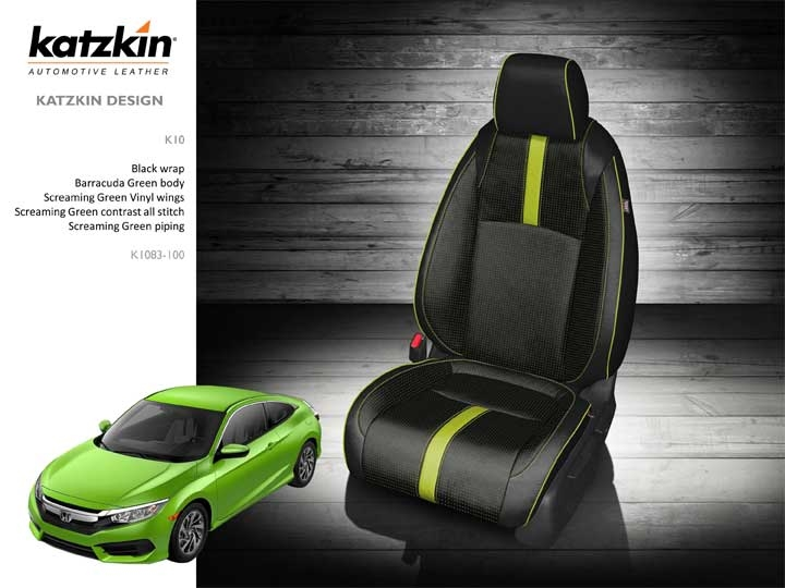 Marvelous 2016 2019 Honda Civic Sedan Ex Ex T Katzkin Leather Interior 2 Row Cjindustries Chair Design For Home Cjindustriesco