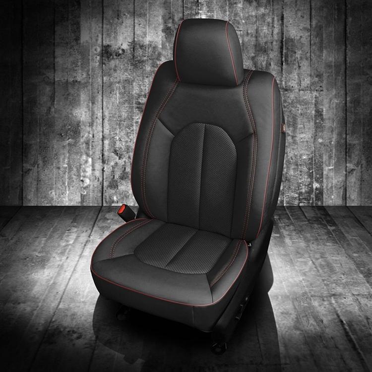 Chrysler Pacifica Limited Katzkin Leather Seat Upholstery 2017 2018 2019 2020 2021 Shopsar Com