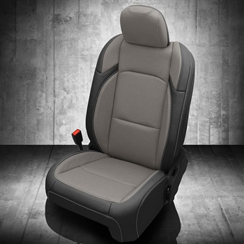 Jeep Wrangler 4 Door Rubicon Katzkin Leather Seat Upholstery, 2019 (replaces factory cloth)