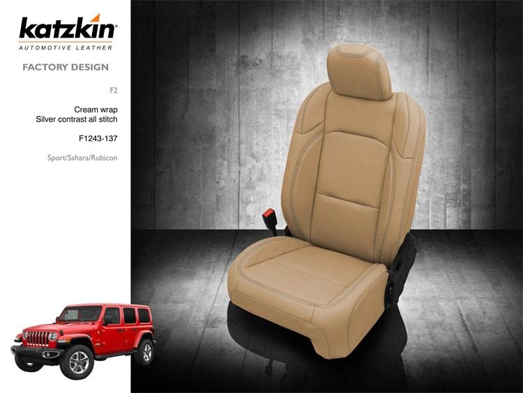 Jeep Wrangler Seat Covers >> 2018 2019 Jeep Wrangler 4 Door Sahara Jl New Body Katzkin Leather Interior Replaces Factory Leather With Rear Armrest 2 Row