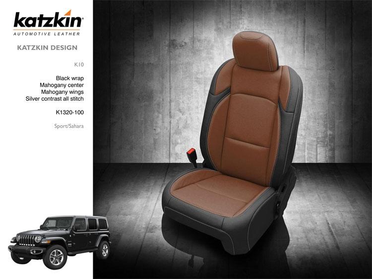 2020 Jeep Wrangler Leather Seats Katzkin Jeep Wrangler