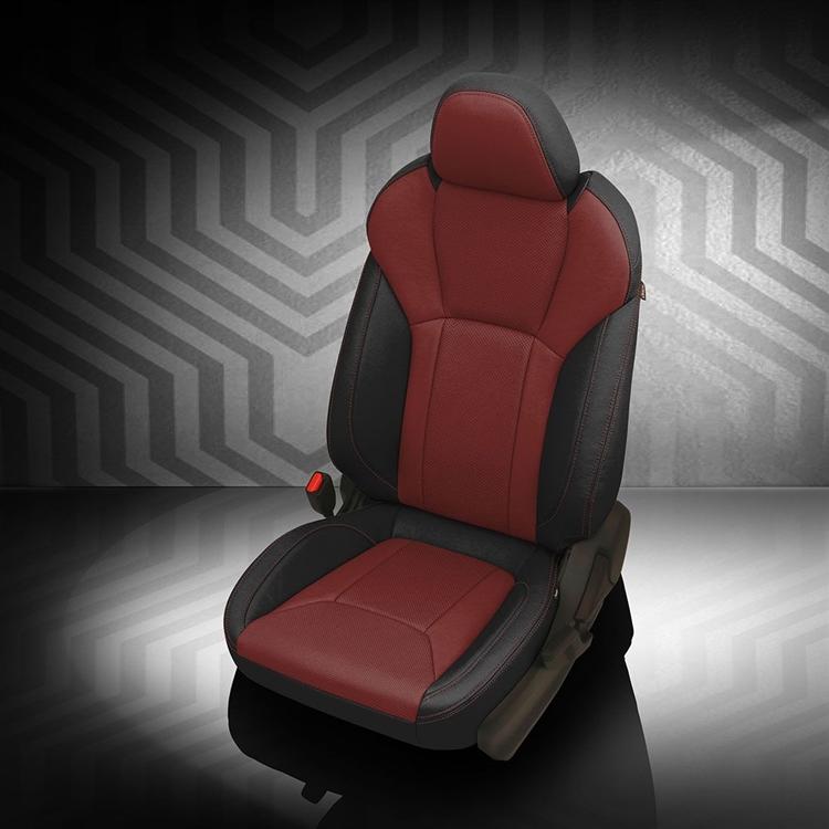 Excellent 2018 2020 Subaru Crosstrek Katzkin Leather Interior 2 Row Ibusinesslaw Wood Chair Design Ideas Ibusinesslaworg